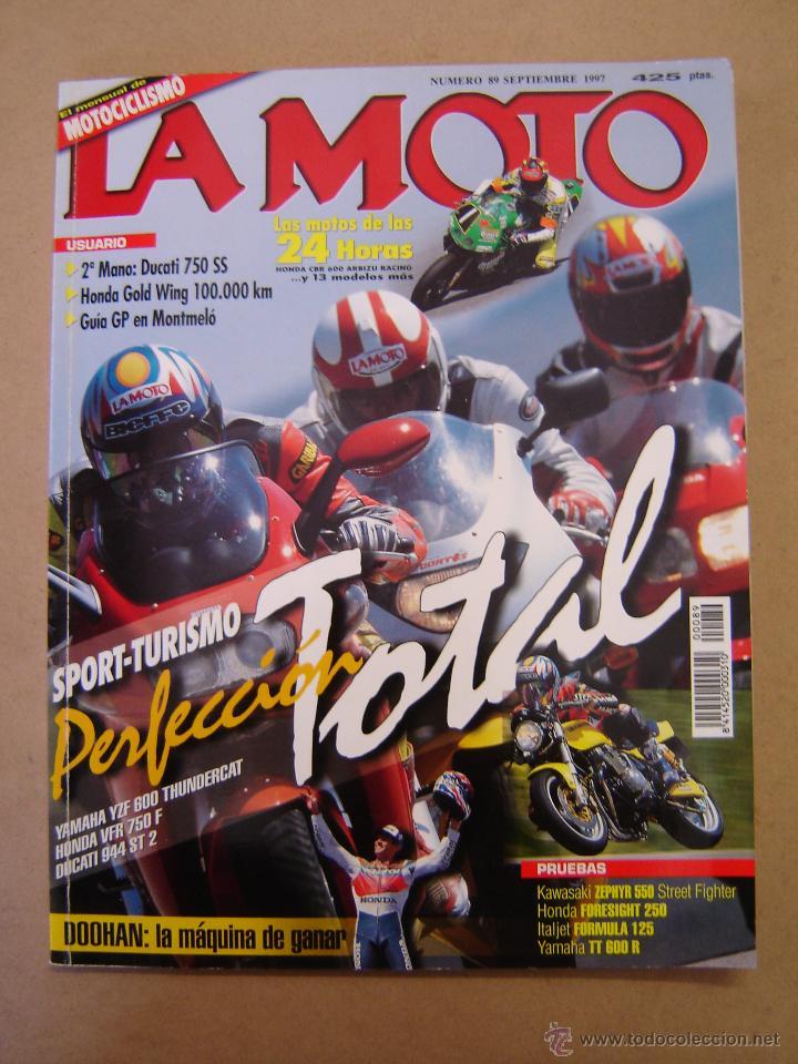 REVISTA LA MOTO Nº 89 DE 1997 (Coches y Motocicletas - Revistas de Motos y Motocicletas)