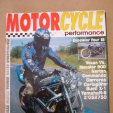 Coches y Motocicletas: REVISTA MOTORCYCLE PERFORMANCE Nº 13 . Lote 47569184