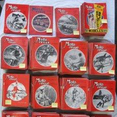 Coches y Motocicletas: LOTE DE 600 REVISTAS DE MOTOS MOTO REVUE. Lote 47717873
