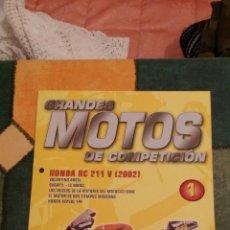 Coches y Motocicletas: FASCÍCULO Nº 1 DE GRANDES MOTOS DE COMPETICIÓN. Lote 47859427