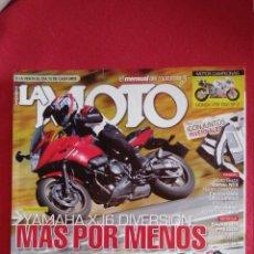 Coches y Motocicletas: LA MOTO 236. YAMAHA XJ6 DIVERSION. MOTO MORINI SCRAMBLER. PRUEBA RACING TODAS LAS SUPERBIKE 2009. Lote 47868900