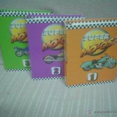 Coches y Motocicletas: SUPER MOTOS: 3 VOLÚMENES (ARCHIVADORES CON FOTOS EXTRAÍBLES). Lote 48515286