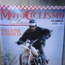 Coches y Motocicletas: REVISTA MOTOCICLISMO CLASICO NUMERO 65 OSSA SUPER PIONNER CLEVELAND. Lote 121140564