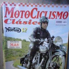 Coches y Motocicletas: REVISTA MOTOCICLISMO CLASICO NUMERO 30 MARZO NORTON MONTESA BRIO TERROT 350. Lote 48701828
