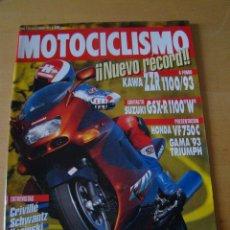 Coches y Motocicletas: MOTOCICLISMO - NUM. 1305 - AÑO 1993 - KAWA ZZR 1100 SUZUKI GSX R 1100 W -. Lote 49032050