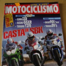Coches y Motocicletas: MOTOCICLISMO - NUM. 1310 - AÑO 1993 - DUCATI 900 MONSTER - YAMAHA BW´S. Lote 49032505