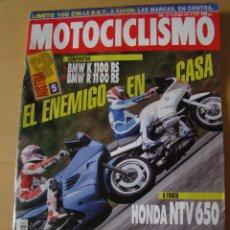 Coches y Motocicletas: MOTOCICLISMO - NUM. 1317 - AÑO 1993 - BMW K 1100 RS - BMW R 1100 RS - HONDA NTV 650. Lote 49034784