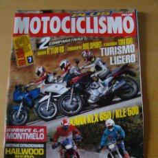 Coches y Motocicletas: MOTOCICLISMO - NUM. 1323 - AÑO 1993 - BMW R 1100 - TRIUMPH 900 SPRINT - YAMAHA TDM 850. Lote 49072079