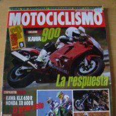 Coches y Motocicletas: MOTOCICLISMO - NUM. 1326 - AÑO 1993 - KAWA 900 - KAWA KLX 650 R - HONDA XR 600 R. Lote 49072125