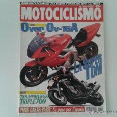 Coches y Motocicletas: MOTOCICLISMO ENERO´94 TRIUMPH SPEED TRIPLE, VESPA COSA, SUZUKI RM, DERBI FENIX, PEUGEOT FOX, TDM. Lote 49146209