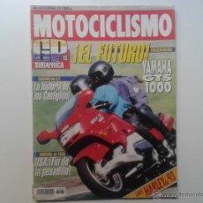 Coches y Motocicletas: MOTOCICLISMO SEPTIEMBRE´92 YAMAHA GTS 1000, HARLEY DAVIDSON, CAGIVA, SUZUKI RF 600, HONDA CBR 600. Lote 49203379