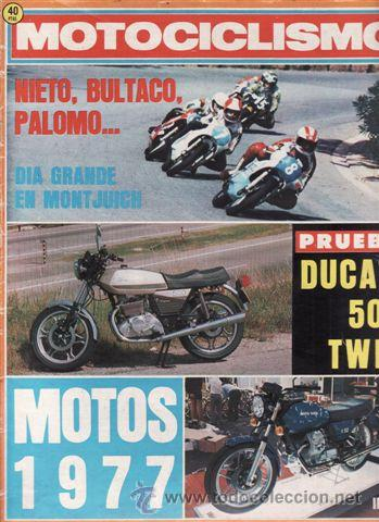 REVISTA MOTOCICLISMO Nº 478 AÑO 1976. PRUEBA: DUCATI 500 TWIN. (Coches y Motocicletas - Revistas de Motos y Motocicletas)