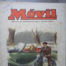 Coches y Motocicletas: REVISTA MOVIL NUMERO 63 FEBRERO 1949 AUTOMOVILISMO MOTORISMO . Lote 49751020