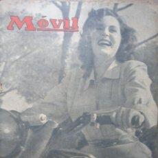 Coches y Motocicletas: REVISTA MOVIL NUMERO 87 FEBRERO 1951 AUTOMOVILISMO MOTORISMO . Lote 49751179