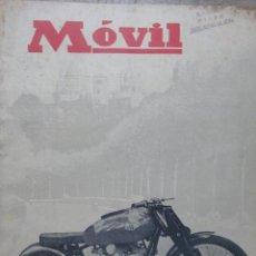 Coches y Motocicletas: REVISTA MOVIL NUMERO 89 ABRIL 1951 AUTOMOVILISMO MOTORISMO . Lote 49751202