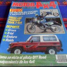 Coches y Motocicletas: MOTOR 4X4 VERDE ESPECIAL 1989. 500 PTS. BUEN ESTADO.. Lote 49874015