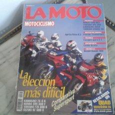 Coches y Motocicletas: LA MOTO TRIUMPH THUNDERBIRD, APRILIA MOTÓ, YAMAHA SRZ 660 HARLEY DAVIDSON BAD BOY, SUZUKI BANDIT 400. Lote 50274394
