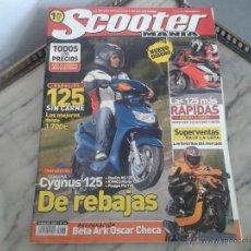 Coches y Motocicletas: SCOOTER MANIA FB´05 DERBI GPR 125, YAMAHA CYGNUS, DAELIM NS, KYMCO MOVIE, PIAGGIO FLY, DERBI VARIANT. Lote 50293297