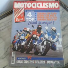 Coches y Motocicletas: MOTOCICLISMO OCT´91 SUZUKI RM 125, YAMAHA FZR 1000, YAMAHA TDM, HONDA CBR, SUZUKI GSXR, BETA ZERO. Lote 50356428