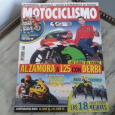 Coches y Motocicletas: MOTOCICLISMO DIC´02 DUCATI 749 S, BMW R 1200 CL, BMW K 1200 LT, DERBI, GAS GAS EC, KTM EXC, HUSABERG. Lote 50380692