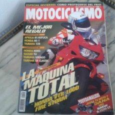 Coches y Motocicletas: MOTOCICLISMO DIC´96 YAMAHA TZR, HONDA NS-1, APRILIA RS, HONDA VTR 1000, HONDA REBEL, SUZUKI TU, BMW. Lote 50433051