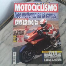 Coches y Motocicletas: MOTOCICLISMO NOV´92 KAWASAKI ZZR 1100, DERBI GPR, HONDA NSR, YAMAHA TZR, KAWASAKI KLR, RIEJU DRAC. Lote 50455903