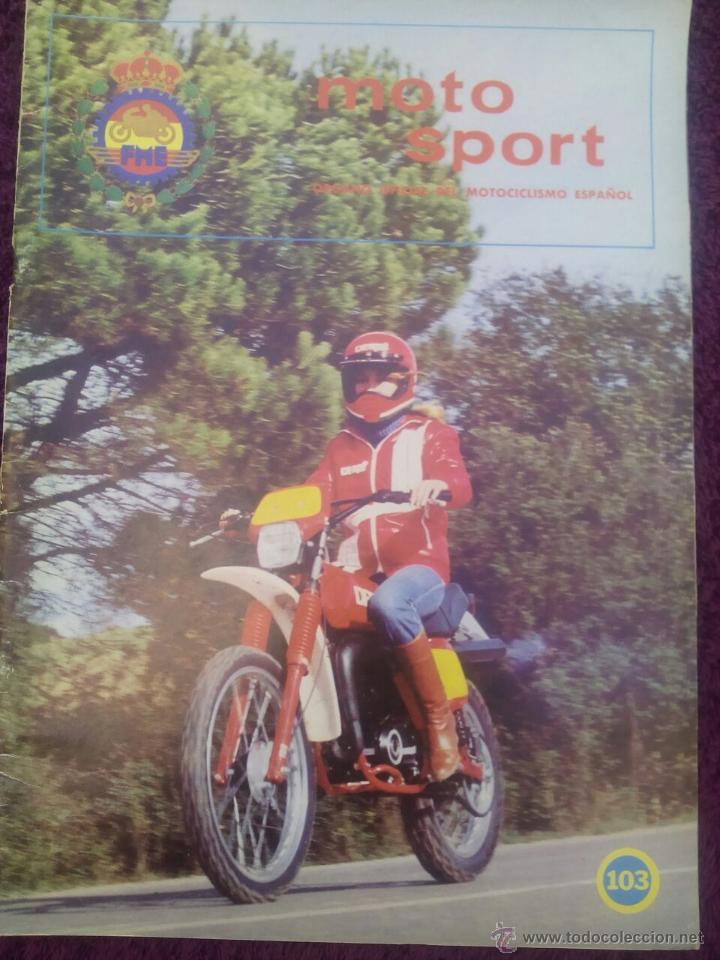 REVISTA MOTO SPORT Nº 103 AÑO 1979. (Coches y Motocicletas - Revistas de Motos y Motocicletas)