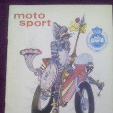 Coches y Motocicletas: REVISTA MOTO SPORT Nº 106 AÑO 1980. Lote 50627551