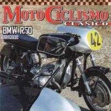 Coches y Motocicletas: MOTOCICLISMO CLASICO N. 150 MARZO 2015 - EN PORTADA: BMW R50 SIDECAR (NUEVA). Lote 61845186