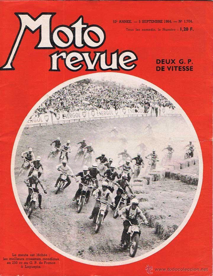 MOTO REVUE Nº 1704 - 1964 (Coches y Motocicletas - Revistas de Motos y Motocicletas)