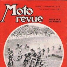 Coches y Motocicletas: MOTO REVUE Nº 1704 - 1964. Lote 51075640
