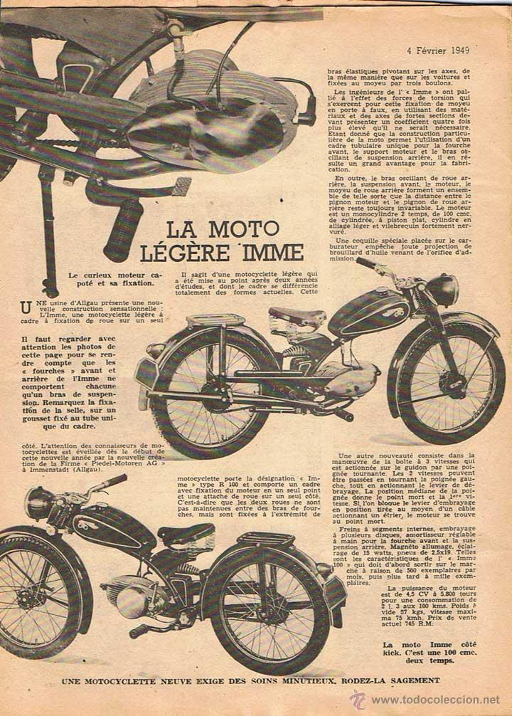 Coches y Motocicletas: MOTO REVUE Nº 936 - 1949 - Foto 2 - 51075759