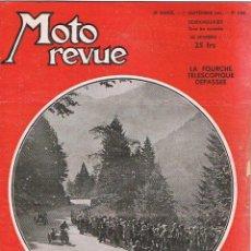 Coches y Motocicletas: MOTO REVUE Nº 1048 - 1951. Lote 51075887