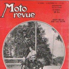 Coches y Motocicletas: MOTO REVUE Nº 1051 - 1951. Lote 51076195