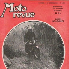 Coches y Motocicletas: MOTO REVUE Nº 1064 - 1951. Lote 51076322
