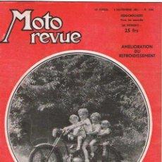 Coches y Motocicletas: MOTO REVUE Nº 1049 - 1951. Lote 51076789
