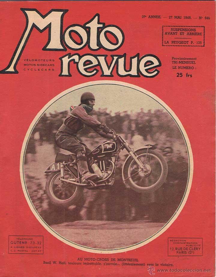 MOTO REVUE Nº 946 - 1949 (Coches y Motocicletas - Revistas de Motos y Motocicletas)