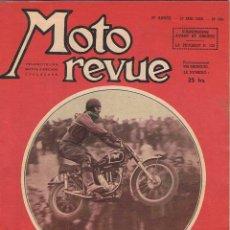Coches y Motocicletas: MOTO REVUE Nº 946 - 1949. Lote 51076873
