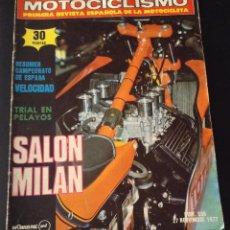 Coches y Motocicletas: REVISTA MOTOCICLISMO Nº 538 DE 1977 DUCATI. Lote 51157039