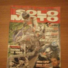 Coches y Motocicletas: SOLO MOTO ,Nº 1391- 4/ 2 / 2003. Lote 51257403