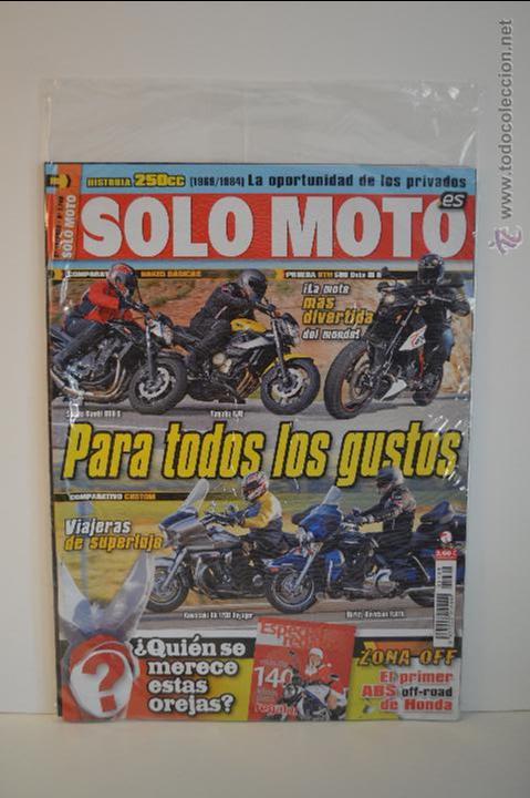 REVISTA SOLO MOTO NUEVA - Nº 1748 - 2009 - NAKED - KTM - SUZUKI - YAMAHA - HARLEY - KAWASAKI - HONDA (Coches y Motocicletas - Revistas de Motos y Motocicletas)