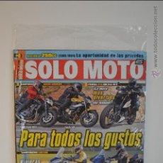 Coches y Motocicletas: REVISTA SOLO MOTO NUEVA - Nº 1748 - 2009 - NAKED - KTM - SUZUKI - YAMAHA - HARLEY - KAWASAKI - HONDA. Lote 51547695