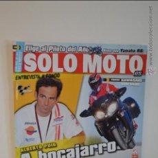 Coches y Motocicletas: REVISTA SOLO MOTO NUEVA - Nº 1756 - 02/02/2010 - MAR MARQUEZ - ALBERTO PUIG - KAWASAKI - GP - BMW. Lote 51547767