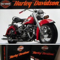 Coches y Motocicletas - COLECCIONABLE HARLEY-DAVIDSON 77 FASCÍCULOS PLANETA DEAGOSTINI MOTOS HISTORIA MILITAR FOTOS NO LIBRO - 51689916