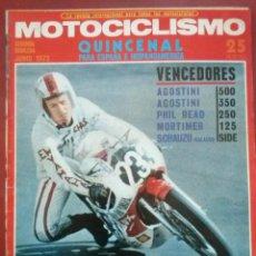 Coches y Motocicletas: MOTOCICLISMO 2ªQUINZENA JUNIO 1972 POSTER GIMSON POLARIS Y PRUEBA, HONDA 500 FOUR DERBI COYOTE. Lote 51707888
