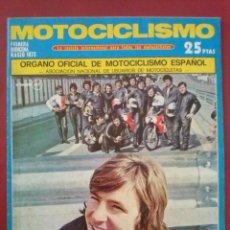 Coches y Motocicletas: MOTOCICLISMO 1ª QUINCENA MARZO 1973. CON POSTER. DERBI 50 CARRERAS CLIENTE. PUCH DAKOTA MONTESA . Lote 54965031