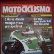 Coches y Motocicletas: MOTOCICLISMO 809 16 JULIO 1983 BFG 1300 CC MOTOR DE CITROEN GS PROTO DUCATI PANTAH 750 PEUGEOT CXE. Lote 51737860