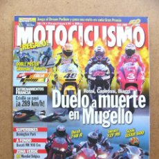 Coches y Motocicletas: MOTOCICLISMO 1736 DUCATI MH 900 EVOLUCIONE 748 R YAMAHA R6 SUZUKI GSXR 600 HONDA CBR 600 SPORT. Lote 52027631
