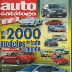 Coches y Motocicletas: AUTO CATALOGO AUTOPISTA Nº 21 AÑO 2000.. Lote 52389335