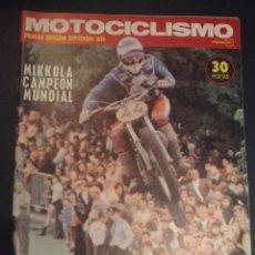 Coches y Motocicletas: REVISTA MOTOCICLISMO PRIMERA QUINCENA SEPTIEMBRE 1974 DRESDA-750 SUZUKI. Lote 52614691
